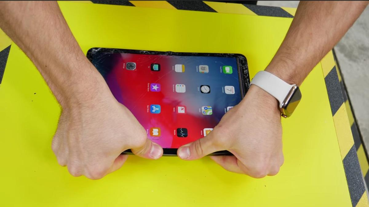 Resistencia del nuevo iPad Pro 2018
