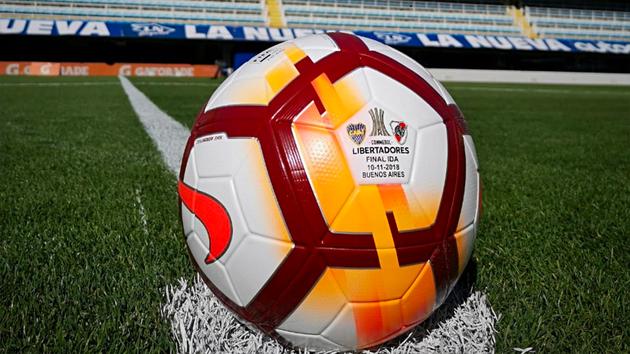 Se dio a conocer la pelota de la final de la CONMEBOL Libertadores