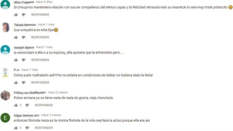 Los comentarios negativos siguen publicándose en videos de hace más de 5 años. (Foto: YouTube Canal 13)
