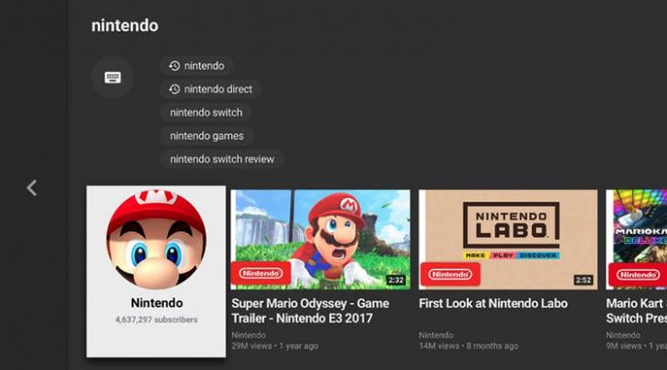 YouTube Nintendo Swirch