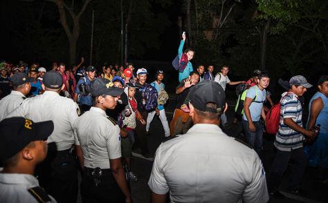 Paso de migrantes por México.
