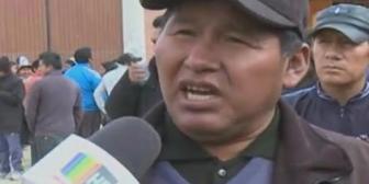 La Paz: Choferes se enfrentaron por rutas en la zona de Yunguyo