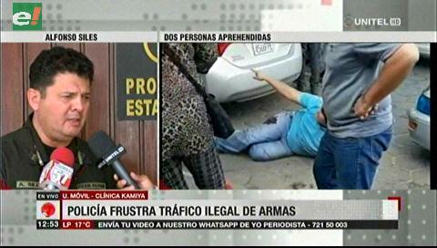 Detienen a un brasileño, tras confuso tiroteo entre la Policía y traficantes de armas en Santa Cruz