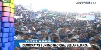 Video titulares de noticias de TV – Bolivia, mediodía del lunes 12 de noviembre de 2018