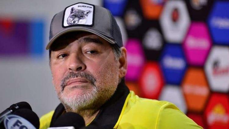 Diego Armando Maradona llevó al subcampeonato a Dorados de Sinaloa en su primer torneo en México (Foto: EFE)