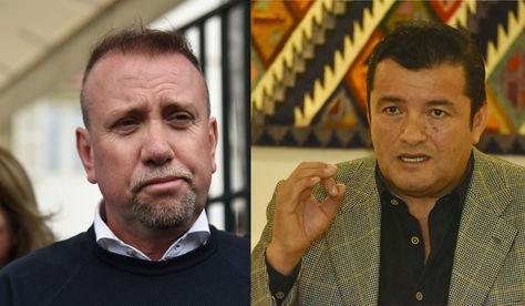 Virginio Lema (MNR) y Jhonny Fernández (UCS) promueven una cumbre de unidad de los defensores del 21F.
