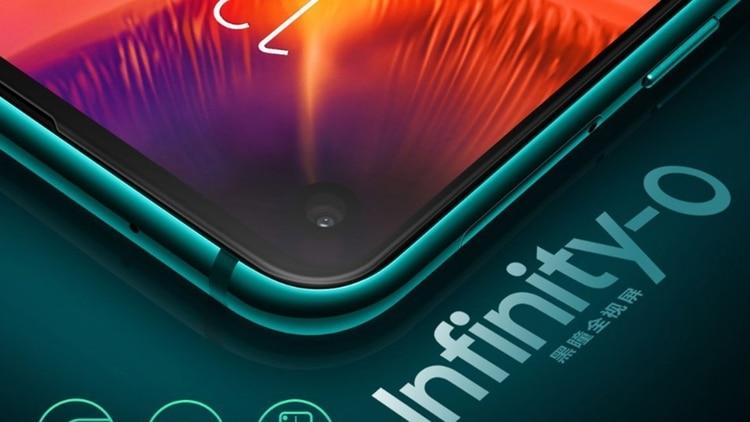 Samsung presenta smartphone con pantalla Infinity-O