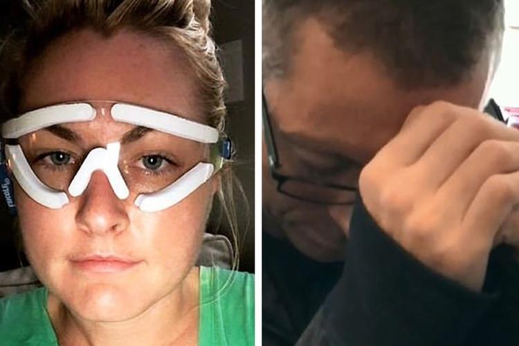 Con la presentadora del clima del canal Fox, van 11 personas que se sometieron a la misma cirugía de ojos y se suicidaron