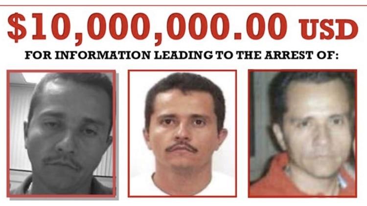 """""""El Mencho"""" es el narcotraficante más buscado por EEUU."""