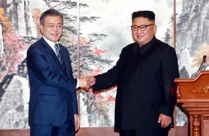 Los líderes se reunieron tres veces en 2018 (REUTERS)