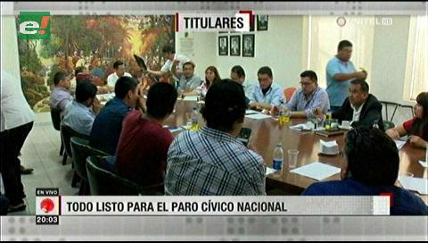 Video titulares de noticias de TV – Bolivia, noche del miércoles 5 de diciembre de 2018