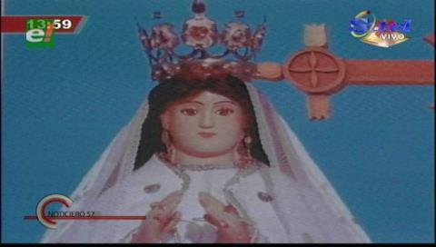 Fieles inician la romería al santuario de Cotoca