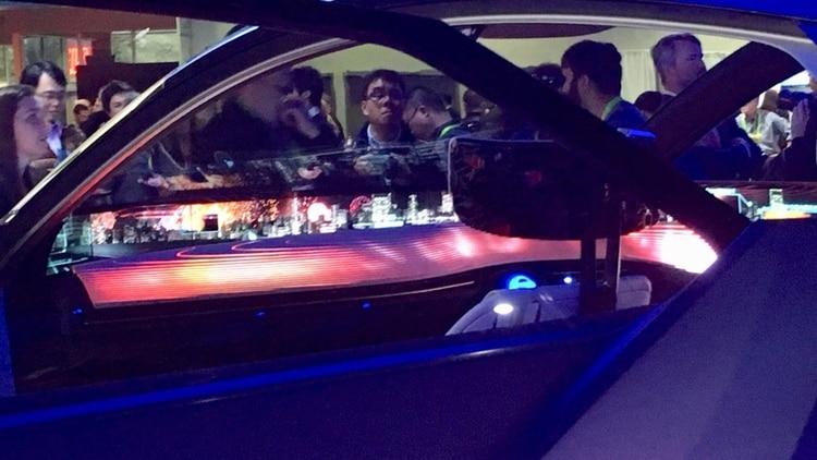 El tablero luminoso del proyecto de Nissan