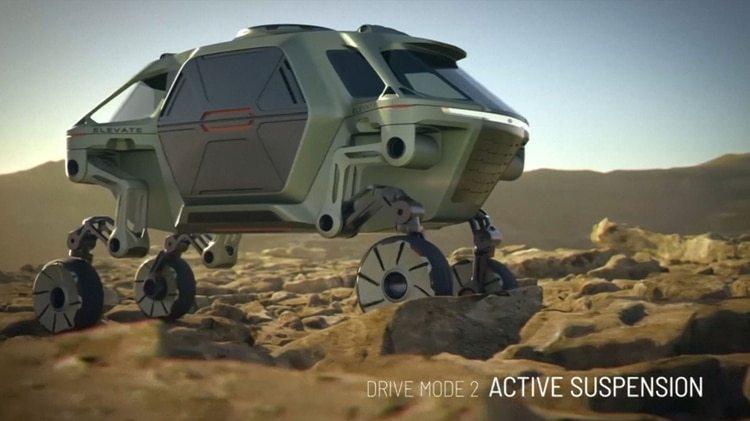 Hyundai Elevate podría servir para tareas de exploración