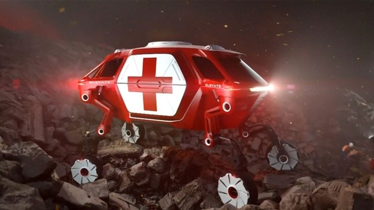 También para rescates en entornos de difícil acceso
