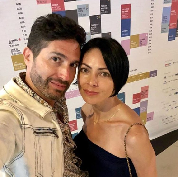La pareja conformada Benny Ibarra y Celina del Villar vivió un tropiezo el año pasado cuando se reveló la infidelidad de él (Foto: Instagram)