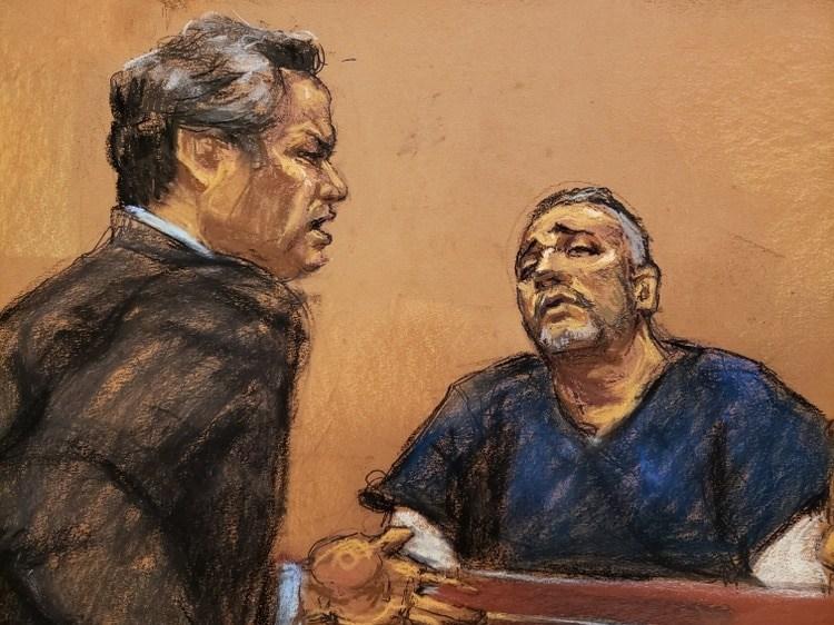 """La defensa del capo dice que """"El Mayo"""" pagó sobornos al ex presidente Peña Nieto Foto: (REUTERS/Jane Rosenberg)"""