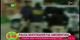 Policía investigador del caso de Jhasmani Torrico fue amedrentado