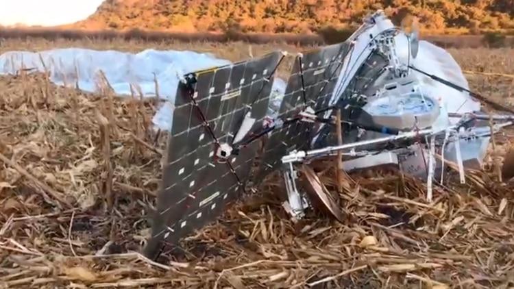 Campesinos y habitantes del lugar vieron el objeto en el cielo; pensaron que era un satélite (Foto: Facebook Morelos Digital)