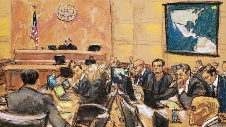 Se espera que esta semana acabe el extenso juicio que se ha llevado a cabo en contra del narcotraficante mexicano (Foto: EFE)