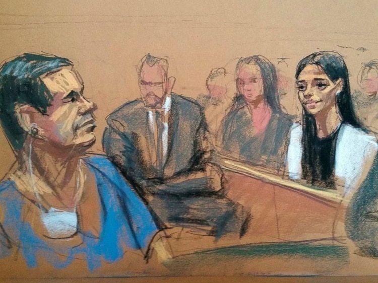 """Emma Coronel, esposa del """"Chapo"""" Guzmán, no asistió a la corte porque se sentía mal (Foto: Archivo)"""