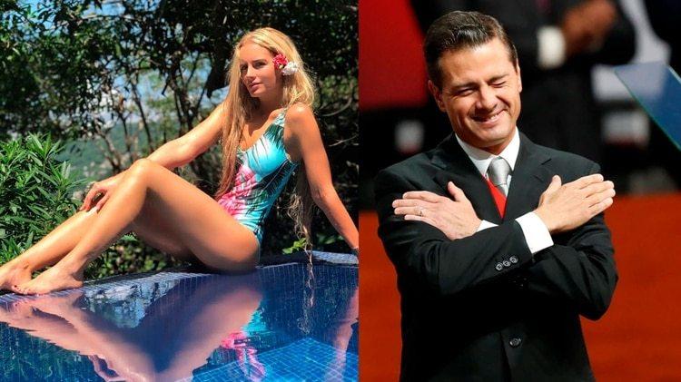 La modelo ha compartido mensajes de amor, pero no se sabe si son dirigidos a Peña Nieto (Foto: Instagram TaniaTuize / REUTERS/Carlos Jasso)