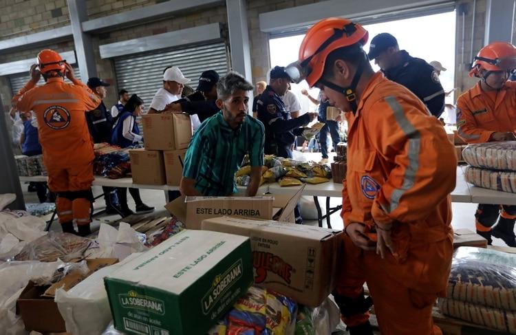 La ayuda humanitaria en Colombia lista para ser enviada a Venezuela (REUTERS)