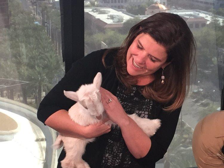 Nicole Carroll,editora en jefe del diario USA Today