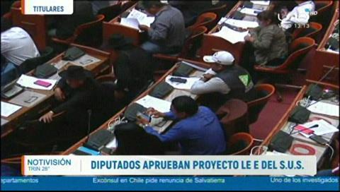 Video titulares de noticias de TV – Bolivia, mediodía del martes 12 de febrero de 2019
