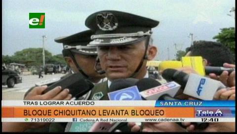ABC y pobladores de la Chiquitanía acuerdan suspender bloqueo de ruta Bioceánica
