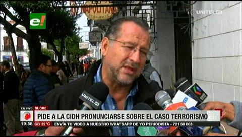 Piden a la CIDH que puedan pronunciarse sobre el caso terrorismo
