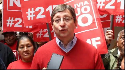 Ortiz exigió a la CIDH aplicar procedimiento 'per saltum' y así acelerar recurso para inhabilitar a Evo