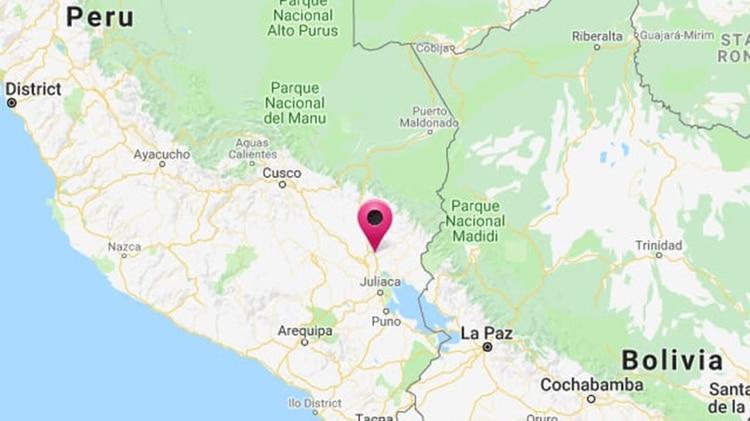 El sismo se produjo en el distrito de Azangaro, región de Puno