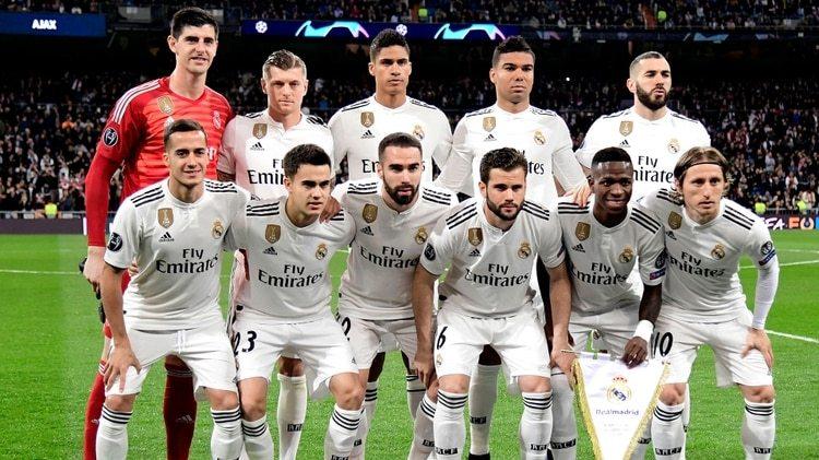La cotización de la plantilla del Real Madrid se desplomo tras la derrota ante el Ajax (AFP)