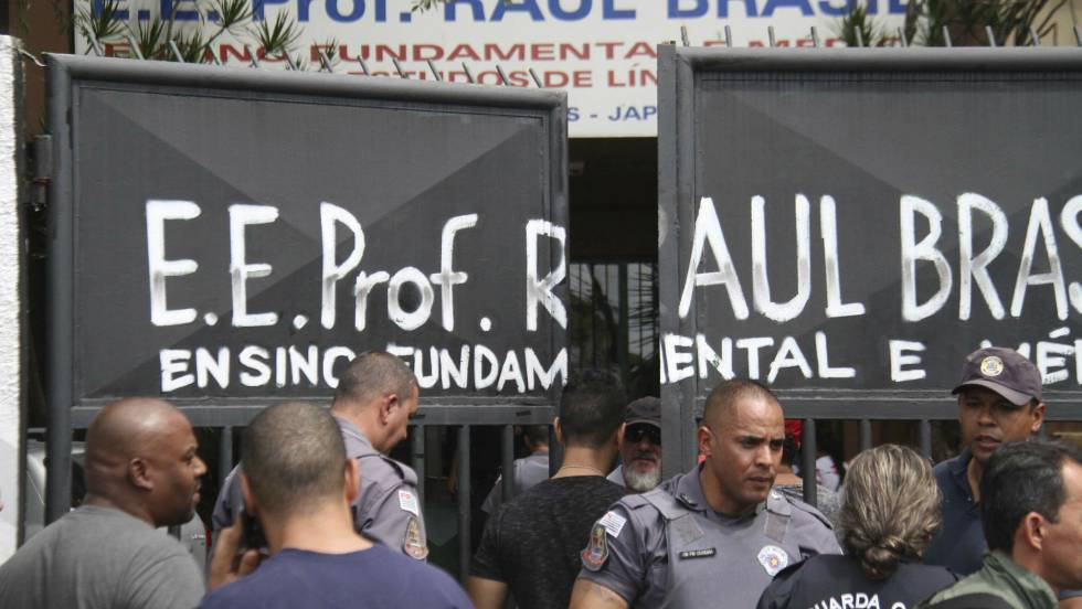 Tiroteo en escuela de Brasil deja 8 muertos, entre ellos 5 niños