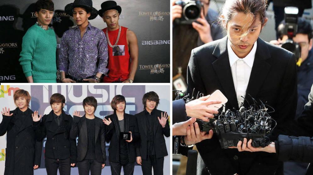 Foto: Varios artistas surcoreanos, en medio de un gran escándalo sexual (Reuters)