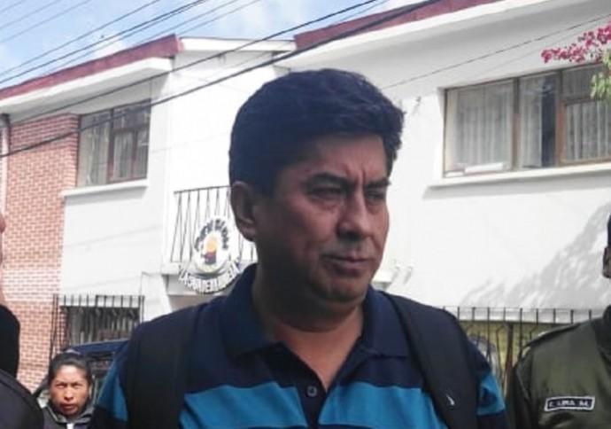Orlando Ceballos fue acusado de violencia familiar. Foto: CORREO DEL SUR