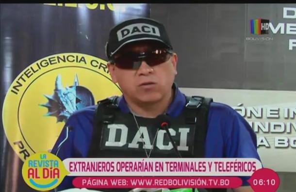 Delincuentes extranjeros operan en el Teleférico y Terminal de buses