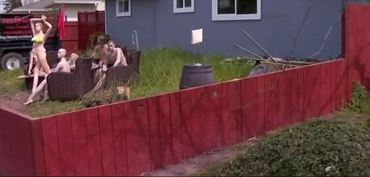 La venganza de un hombre en California al que sus vecinos obligaron a reducir su cerca