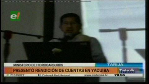 Ministerio de Hidrocarburos presenta informe de gestión a organizaciones sociales de Tarija