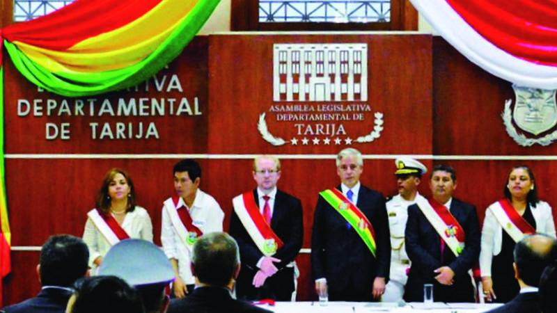 Gobierno estima ingresos de $us 2.700 millones para Tarija