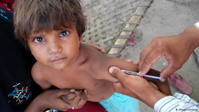 Impfung gegen Masern (Imago/Xinhua)