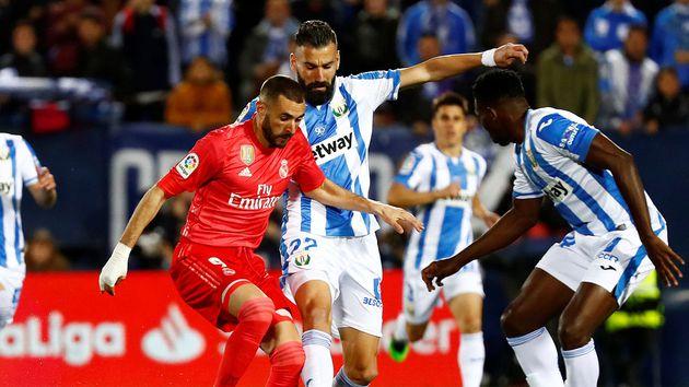 Benzema salvó al Real Madrid de perder ante Leganés