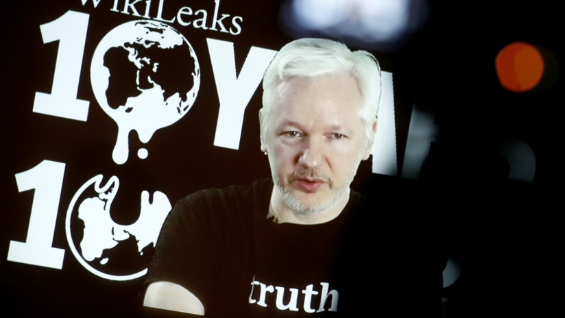 EE.UU. revela un documento del caso contra Assange con una