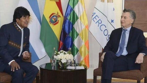 Evo y Macri hablarán de la hidrovía Paraguay-Paraná, gas y energía