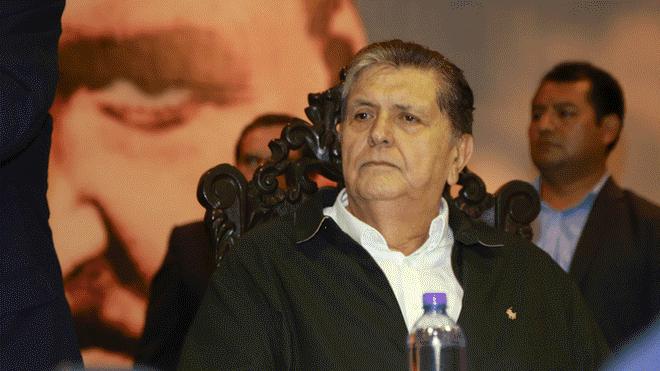Alan García, EN VIVO, detención preliminar, Odebrecht