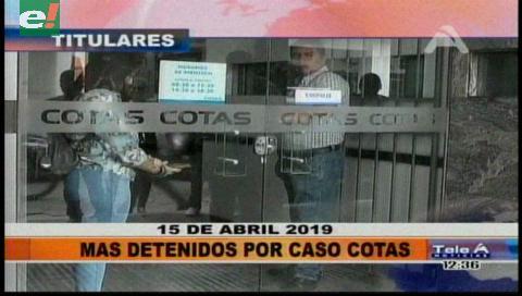 Video titulares de noticias de TV – Bolivia, mediodía del lunes 15 de abril de 2019