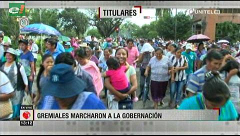 Video titulares de noticias de TV – Bolivia, mediodía del martes 16 de abril de 2019