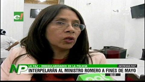 Programan para mayo interpelación al ministro Romero por irregularidades en la Policía
