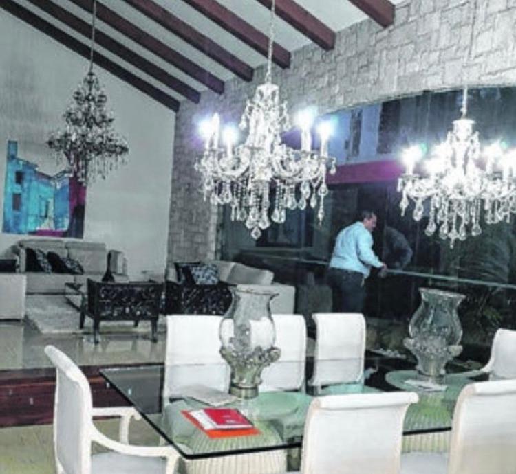 Una de las siete propiedades allanadas de Pedro Montenegro